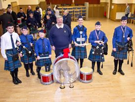 145th Boy's Brigade Pipe Band from Scotland for these great pics.