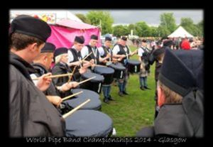 2622 Highland Squadron Pipe Band from Scotland.