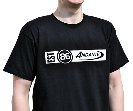 Andante T- shirt Front View