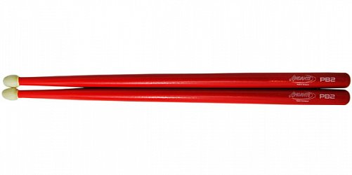 Andante PB 2 Snare Drumsticks Red