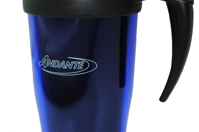 Andante Travel Mug Logo View