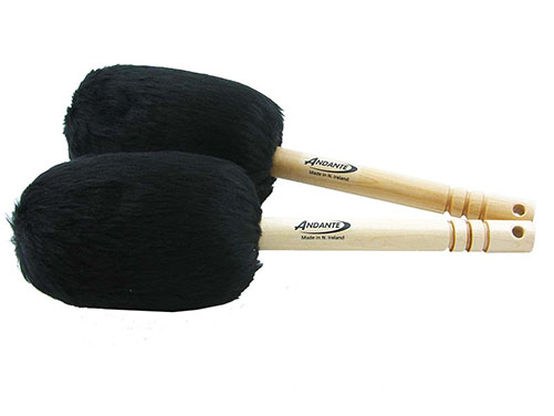 Bass Drumsticks Black