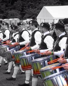 Boghall & Bathgate Pipe Band, Grade 1 from Scotland.