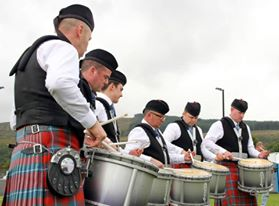 Bothwell Castle Pipe Band from South Lanarkshire, Scotland