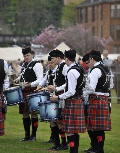 City of Discovery Pipe Band.