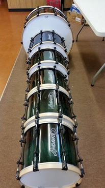 City of Invercargill Pipe Band from New Zealand for these brilliant photos of their brand new Pro Series Bass & Tenors.
