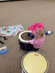 Little Drummers in the making all the way from Canada, So cute!