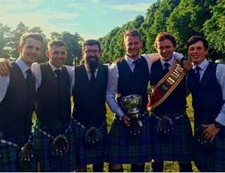 Inveraray & District Pipe Band Grade 1, 2016 European Champions.