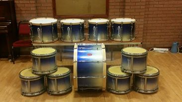 What a great photo of Gilnahirk PB  drums from Northern Ireland.