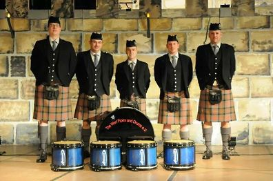 Werl Pipes & Drums from Germany for these great pictures.