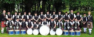 McDonald Memorial Pipe Band from Northern Ireland.