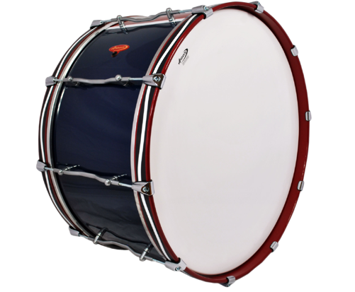 Advance Military Bass Drum Military Pattern
