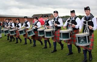 Oban Pipe Band from Scotland.
