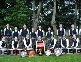 Buchan Pipe Band Drum Corps 2014