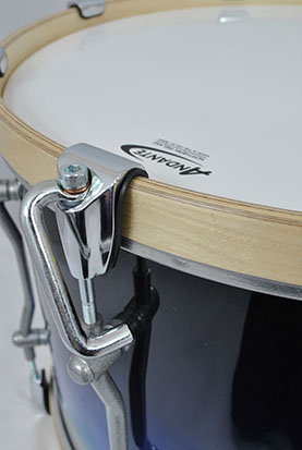 Handle View of Tenor Drum