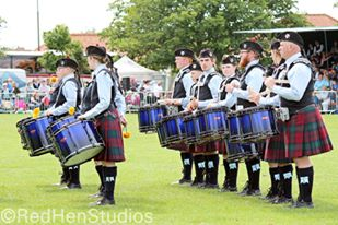 Scotia-Glenville Pipe Band from NY USA.