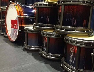 SFU 2014 Season Drums
