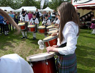 Boghall & Bathgate Novice Juvenile Pipe Band Worlds 2015