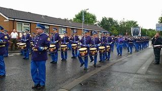 South Belfast YC FB from Belfast Northern Ireland for this brilliant picture of the guys on parade.