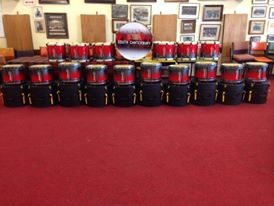 South Canterbury Highland PB from Timaru, New Zealand for the brilliant picture of their Andante Drums.
