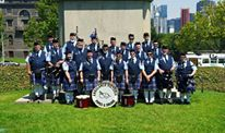 Ambulance Victoria Pipes & Drums from Australia, of the band.