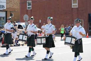 The Essex County Shillelagh Pipes & Drums