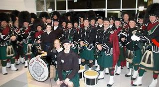 The Guard Pipes & Drums from Bernardsville New Jersey, USA