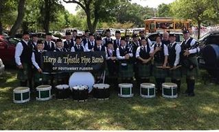 The Harp & Thistle Pipe Band form Naples, Florida USA.
