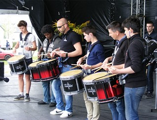 Bagad Ronsed-Mor Lokoal Mendon young band finished 1st in the championships of Brittany in grade 4, 2016.