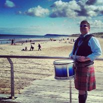 What a great photo of Winston Murdoch from Bangor, Northern Ireland in sunny Portrush 'for once'