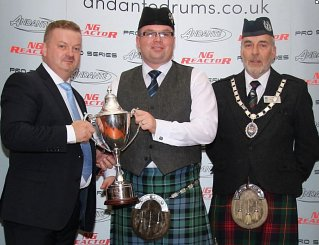 'Steven McWhirter' Winner of 2015 World Solo Drumming.